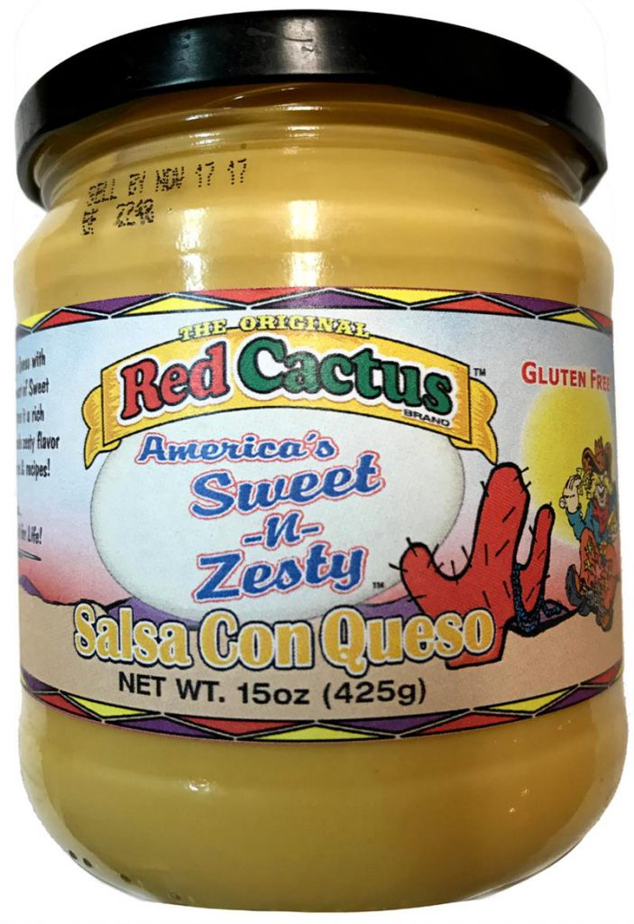 Red Cactus America's Sweet-N-Zesty Salsa Con Queso